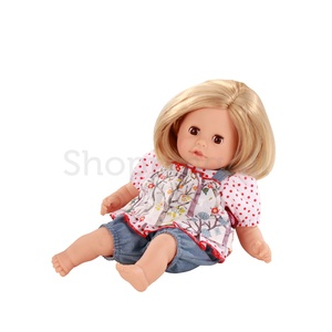 Götz Cosy aquini GÖTZ baba, szőke hajú, barna szemű, 33 cm magas