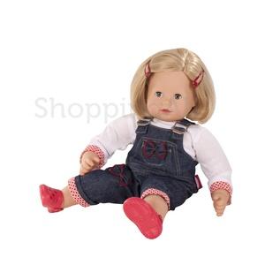 Götz Maxy Muffin GÖTZ baba, kék szemű, szőke hajú, 42 cm magas, hajkefével