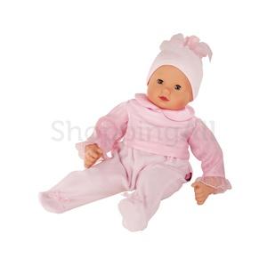 Götz Maxy Muffin GÖTZ baba (2014), kék szemű, haj nélküli, 42 cm magas