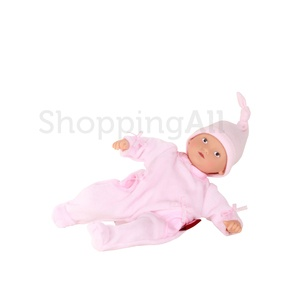 Götz Mini Muffin GÖTZ baba, haj nélküli, barna szem, 20 cm