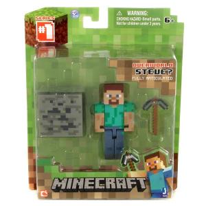 Minecraft - Steve figura kiegészítőkkel