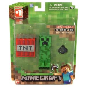 Minecraft - Creeper figura kiegészítőkkel