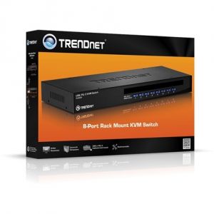 Trendnet TK-803R 8 portos KVM switch Rack Mount TK-803R