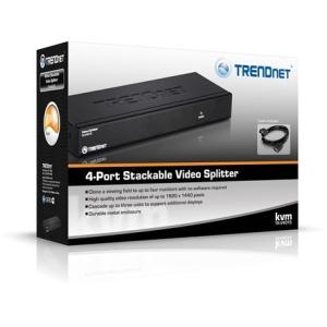 Trendnet TK-V401S 4 portos VGA splitter Stackable TK-V401S