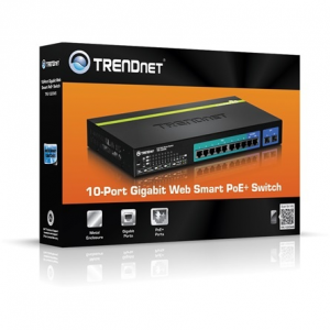Trendnet TPE-1020WS 10-Port Gigabit Web Smart PoE switch TPE-1020WS