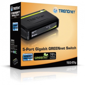 Trendnet TEG-S5G 5-Port Gigabit GREENnet switch TEG-S5G