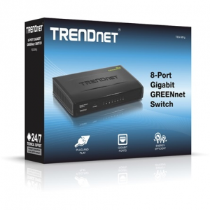 Trendnet TEG-S81G 8-Port Gigabit GREENnet switch TEG-S81G