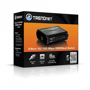 Trendnet TE100-S5 5-Port 10/100 Mbps GREENnet switch TE100-S5