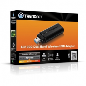 Trendnet TEW-805UB USB2.0 867Mbps AC1200 Dual Band Wi-Fi adapter TEW-805UB