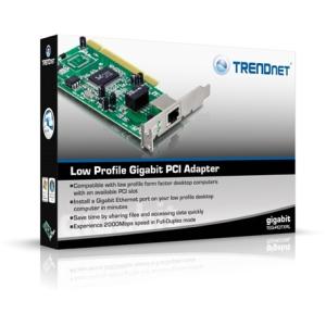 Trendnet TEG-PCITXRL PCI 10/100/1000Mbps Wi-Fi hálózati kártya low profile TEG-PCITXRL