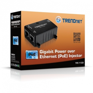 Trendnet TPE-113GI 10/100/1000Mbps Power over Ethernet Injector TPE-113GI