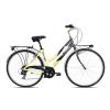 48-as 6 sebességes kerékpár 28″-os, krémszínű/fekete (Carratt Glory)