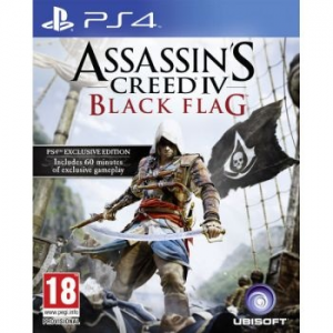 Ubisoft Assassin's Creed 4: Black Flag játék PlayStation 4-re (UBI4080001)