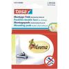 Tesa Öntapadó lapok rögzítéshez, Tesa® (H x Sz) 25 mm x 12 mm Fehér 55773 TESA Tartalom: 1 PAK