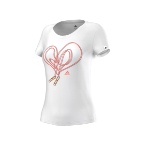 Adidas HEART TEE Q12