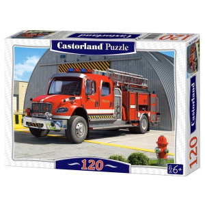 Castorland 120 darabos puzzle - Tűzoltóautó (12831)
