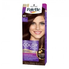 Palette Intensive Color Creme Palette ICC intenzív krémhajfesték W2 étcsokoládé 1 db hajfesték, színező