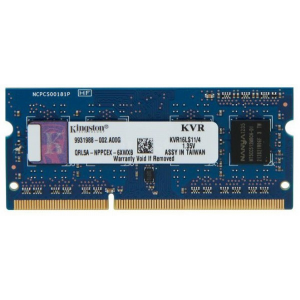 Kingston Notebook 4GB DDR3 SODIMM memória