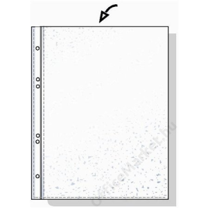 REXEL Genotherm, lefűzhető, A5, 45 mikron, narancsos felület, REXEL (IDGL220766)
