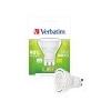 Verbatim LED izzó, PAR16, GU10-es foglalat, 350lm, 5W, 2700K, meleg fény, bliszterben, VERBATIM