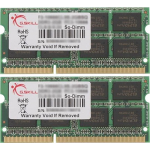 G.Skill F3-1600C10D-16GSQ SQ Series SO-DIMM DDR3 RAM G.Skill 16GB (2x8GB) Dual 1600Mhz CL10 1.5V