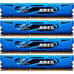 G.Skill F3-1600C9Q-16GAB Ares AB DDR3 RAM 16GB (4x4GB) Quad 1600Mhz CL9