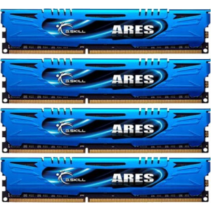 G.Skill F3-2133C9Q-16GAB Ares AB DDR3 RAM 16GB (4x4GB) Quad 2133Mhz CL9