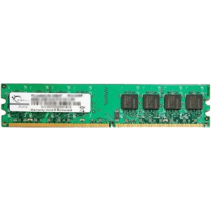 G.Skill F2-6400CL5S-1GBNT Value NT DDR2 RAM G.Skill 1GB (1x1GB) Single 800Mhz CL5