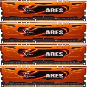G.Skill F3-1600C10Q-32GAO Ares AO DDR3 RAM 32GB (4x8GB) Quad 1600Mhz CL10