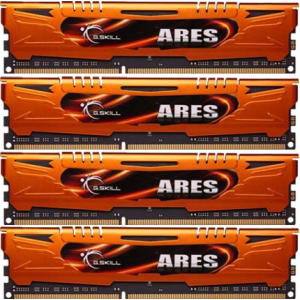 G.Skill F3-1600C9Q-16GAO Ares AO DDR3 RAM 16GB (4x4GB) Quad 1600Mhz CL9