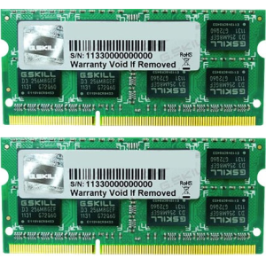 G.Skill FA-1333C9D-16GSQ For Apple Series SO-DIMM DDR3 RAM G.Skill 16GB (2x8GB) Dual 1333Mhz CL9 1.5V