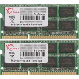 G.Skill F3-1600C9D-8GSL SL Series SO-DIMM DDR3 RAM G.Skill 8GB (2x4GB) Dual 1600Mhz CL9 1.35V