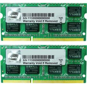 G.Skill FA-10666CL9D-8GBSQ For Apple Series SO-DIMM DDR3 RAM G.Skill 8GB (2x4GB) Dual 1333Mhz CL9 1.5V