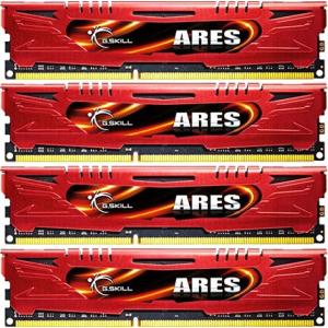 G.Skill F3-2133C11Q-32GAR Ares AR DDR3 RAM 32GB (4x8GB) Quad 2133Mhz CL11