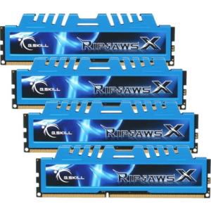 G.Skill F3-12800CL9Q-16GBXM RipjawsX XM DDR3 RAM 16GB (4x4GB) Quad 1600Mhz CL9