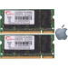 G.Skill FA-6400CL5D-4GBSQ For Apple Series SO-DIMM DDR2 RAM G.Skill 4GB (2x2GB) Dual 800Mhz CL5 1.8V