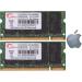 G.Skill FA-6400CL5D-2GBSQ For Apple Series SO-DIMM DDR2 RAM G.Skill 2GB (2x1GB) Dual 800Mhz CL5 1.8V