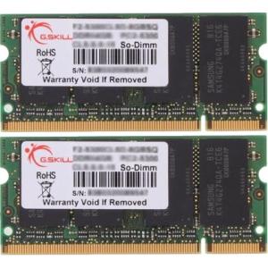 G.Skill F2-6400CL5D-2GBSA SA Series SO-DIMM DDR2 RAM G.Skill 2GB (2x1GB) Dual 800Mhz CL5 1.8V