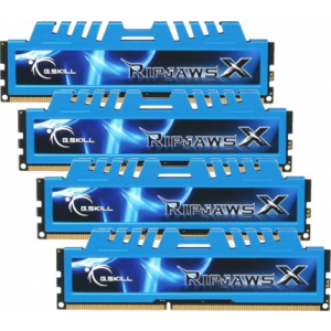 G.Skill F3-2133C10Q-16GXM RipjawsX XM DDR3 RAM 16GB (4x4GB) Quad 2133Mhz CL10