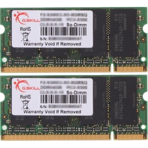 G.Skill F2-5300PHU2-2GBSA SA Series SO-DIMM DDR2 RAM G.Skill 2GB (2x1GB) Dual 667Mhz CL5 1.8V