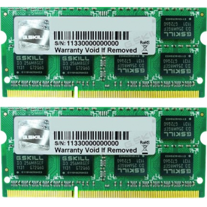 G.Skill FA-8500CL7D-8GBSQ For Apple Series SO-DIMM DDR3 RAM G.Skill 8GB (2x4GB) Dual 1066Mhz CL7 1.5V