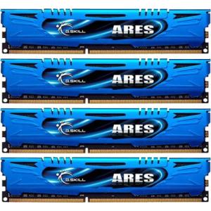 G.Skill F3-2133C10Q-32GAB Ares AB DDR3 RAM 32GB (4x8GB) Quad 2133Mhz CL10