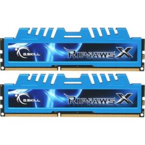 G.Skill F3-10666CL8D-4GBXM RipjawsX XM DDR3 RAM 4GB (2x2GB) Dual 1333Mhz CL8