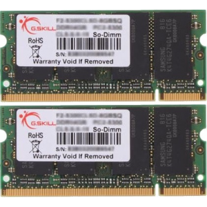 G.Skill F2-6400CL5D-4GBSQ SQ Series SO-DIMM DDR2 RAM G.Skill 4GB (2x2GB) Dual 800Mhz CL5 1.8V