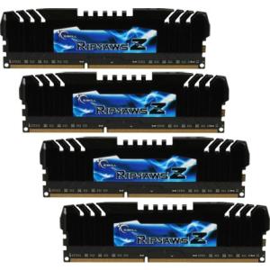 G.Skill F3-1866C9Q-32GZH RipjawsZ ZH DDR3 RAM 32GB (4x8GB) Quad 1866Mhz CL9