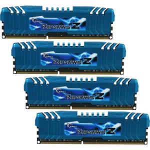 G.Skill F3-1866C10Q-32GZM RipjawsZ ZM DDR3 RAM 32GB (4x8GB) Quad 1866Mhz CL10