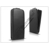 Haffner Slim Flexi Flip bőrtok - Alcatel One Touch S Pop 4030D/Telenor One Touch Mini - fekete