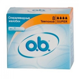 OB Sensitive Original Super tampon, 8 darab (3574660089295)