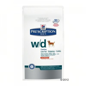 Hill's Prescription Diet Canine w/d - 2 x 12 kg