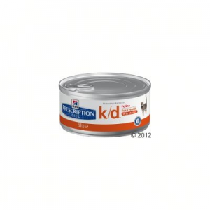 Hill's Prescription Diet Feline K/D csirke - 12 x 156 g